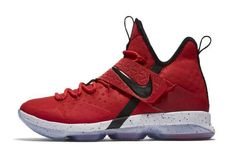 Official Images: Nike LeBron 14 University Red