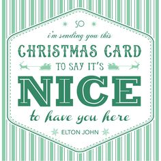 Typography cards for the As You Wish christmas collection :)