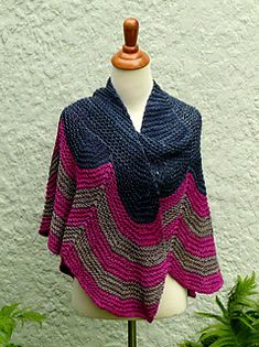"""""""Betsey"""" by Amy Miller, knitted in Anzula worsted weight."""