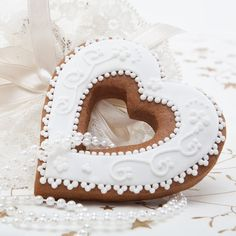 Classic Gingerbread Heart