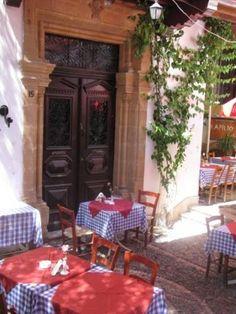 Outdoor European Cafe