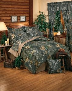 Mossy Oak Bedding: dream of the hunt. They have it in pink for girls room at camp... want