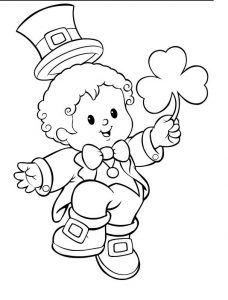 Printable St. Patricku0027s Day Coloring Pages For Preschool