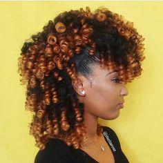 Perm Rods on Natural Hair: How To Use, Wet or Dry How to Save Time by Cheating a Perm Rod Set? Natural Hair Journey, Natural Hair Care, Natural Hair Styles, Rod Set Natural Hair, Natural Hair Mohawk, Cabello Afro Natural, Pelo Natural, Natural Perm, Permed Hairstyles