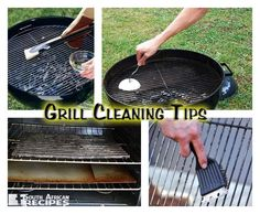 A few tips to keep your Braai / BBQ grill clean. Feel free to add your favourite method! Clean Grill, Clean Clean, Bbq Grill, Grilling, Chemical Waste, South African Recipes, Kos, Cleaning Hacks, Side Dishes