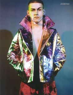 It will all end in tears with model Igor Stepanov (Wonderland Magazine)
