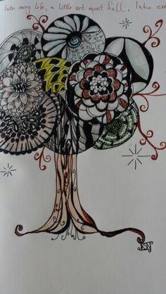 Doodle Tree of Art