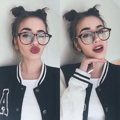 7 Makeup Tips For Women Who Wear Glasses – Best Rcp Photos 2019 Selfie Poses, Tumblr Photography, Photography Poses, Jessica Rodrigues, Foto Pose, Girls With Glasses, Tumblr Girls, Cute Girls, Trends