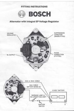 one wire alternator wiring diagram grote 900 turn signal switch gm 3 idiot light hook up hot rod forum bosch internal regulator