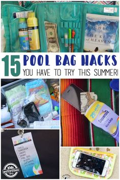 Pool Bag Hacks You Have To Try This Summer