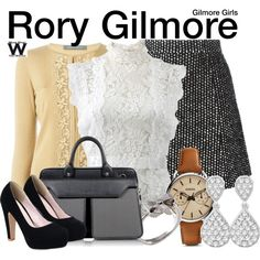 Inspired by Alexis Bledel as Rory Gilmore on Gilmore Girls