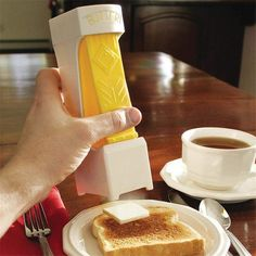 Wallmart.win One Click Stick Butter Cutter Butter Slices Serves Stores Butter Slicer Toast Tool Shredder Parmesan Chocolate Kitchen Tools