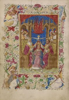 """""""Book of Hours,"""" about 1460, Master of Evert Zoudenbalch (Dutch, active 3rd quarter of 15th century)."""