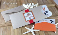 Boarding Pass Wedding Invitations Printed Folder Style