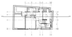 Richard Murphy of Richard Murphy Architects played both client and architect for his self-designed Murphy House on Hart Street in the New Town of Edinburgh. Self Design, Ground Floor Plan, Green Building, Solar Power, Edinburgh, Sustainability, Architecture Design, House Plans, Floor Plans