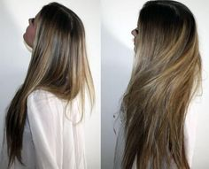highlights but very natural.