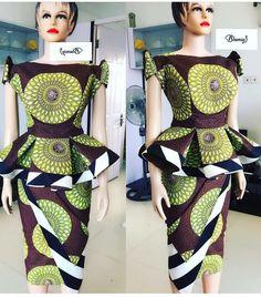 38 Gorgeous Ankara Styles For Pretty Women - African Print Designs 2020 Ankara Styles For Women, Beautiful Ankara Styles, Ankara Gown Styles, Ankara Gowns, Latest Ankara Styles, African Dresses For Women, African Attire, African Fashion Dresses, African Wear