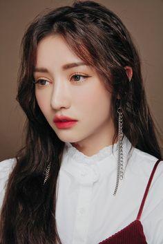 Plum Makeup, Beauty Makeup, Hair Makeup, Korean Makeup Look, Korea Makeup, Cute Selfie Ideas, Korean Face, Photoshoot Makeup, Japanese Hairstyle