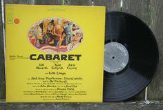Cabaret Soundtrack Original Lp Vinyl Record Album by JoyousVintage, $15.00