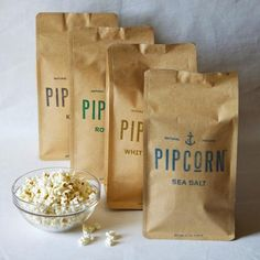 What's a movie party without popcorn? Fun way of having a lot of flavors- Pipcorn Combo Pack $24 at manykitchens.com