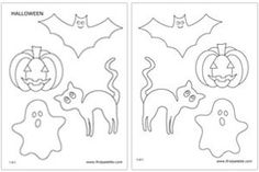 halloween template printable - Google Search