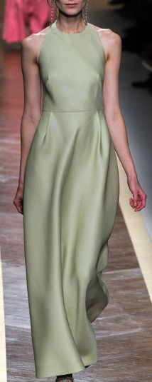 sophisticated minimalism- Kati Nescher for Valentino Spring 2012
