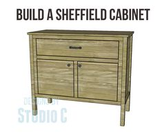 Free Plans to Build a TCD Sheffield Cabinet Knock-Off_Copy