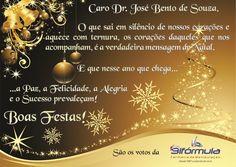 Cartão Comemorativo: Natal  Cliente: Bifórmula Farmácia de Manipulação