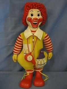 ronald mcdonald doll - Google Search