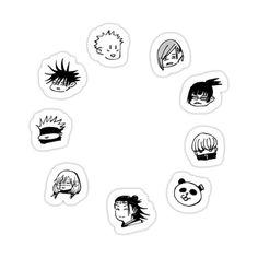 Alien Sightings, Manga Cute, Desenho Tattoo, Anime Stickers, Diy Canvas Art, Aesthetic Stickers, Cute Characters, Funny Faces, Art Google
