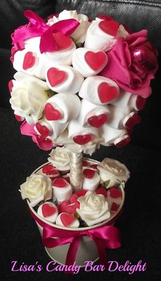 candy tree with foam flowers x