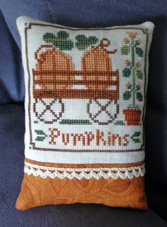 Pumpkins-pillow