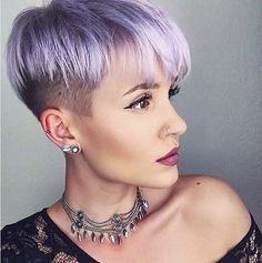 Easy, Very Short Hairstyles - Undercut for Summer