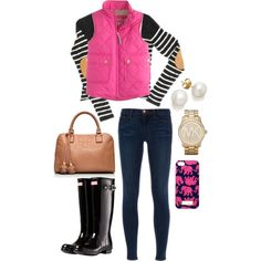 """""""pink and preppy"""" by the-southern-prep on Polyvore"""
