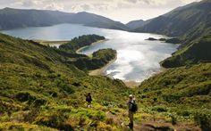 La Lagoa do Fogo, en San Miguel, es uno de los mayores lagos de las Azores #turismoeuropeo