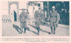 GUERRA DE MARRUECOS * Campamento Alcazarquivir: coronel Pardo - 1925 - Foto 1 - 62224640