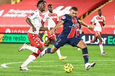 Ligue 1: Monaco defeat PSG after 2-0 down - FOOTBALL FLAME
