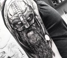viking tattoo for vin