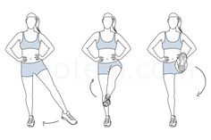 The standing leg circles is a great exercise if your goal is to increase your coordination, balance and build strong, long and lean muscles. This exercise can be included in a lower body workout to help tone your quads, inner thighs and glutes. http://www.spotebi.com/exercise-guide/standing-leg-circles/