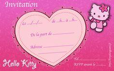 Invitation Hello Kitty