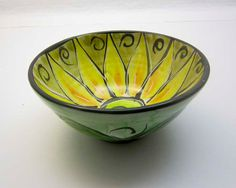 Handmade Pottery Ceramic Majolica Small by ClayLickCreekPottery, $ 25.00