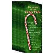 Great gift idea for sunday school - Legend of the Candy Cane, Christmas Bookmark, 25