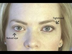 How to Tightline your Eyes: Shortened - YouTube
