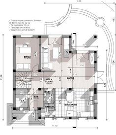 Ovakvu kuću žele svi da imaju: Možete je imati i vi za samo eura (Foto) Classic House Exterior, House Design Pictures, House Doors, My House, House Plans, Floor Plans, How To Plan, Living Room, Home
