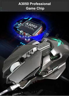 High-end brand mechanical macro definition gaming mouse,Human body engineering design, 7 programmable keys, Cool LED variable light adjustable DPI, Max. Best Computer, Gaming Computer, Computer Mouse, Best Mouse, Mice, Human Body, Keys, Computers, Software