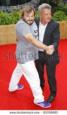 Dustin Hoffman and Jack Black