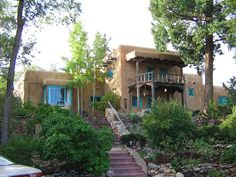 Inn of the Turquoise Bear, Santa Fe, NM.   Ansel Adams and Willa Cather were both guests here, and have rooms named after them.