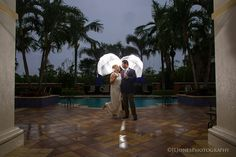 Rainy Day Jupiter Yacht Club Wedding Jupiter, FL www.jljonesweddingphotography.com
