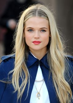 Gabriella Wilde and her perfect hair