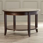 Found it at Wayfair - Beulah Coffee Table.... too dark? Too much wood?